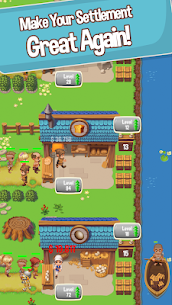 Idle Settlers MOD APK 1.8.9 [Unlimited Money] Medieval Trading 4