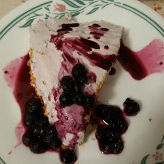 Blueberry Cheesecake - No Bake