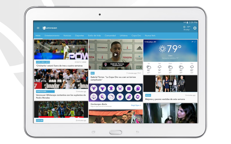 Univision- screenshot