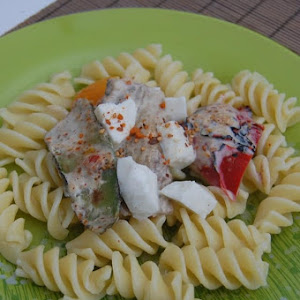 Fusilli with Grilled Vegetables