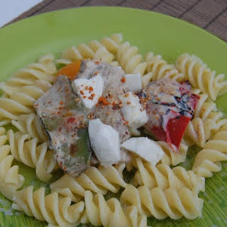 Fusilli with Grilled Vegetables.