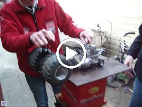 Video: Rijn fire even starten. Voor een vier takt liep het niet slecht!