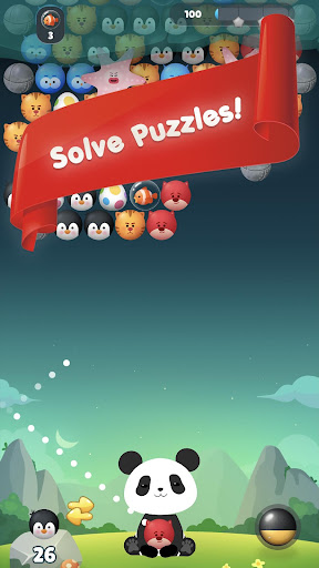 Panda Bubble Puzzle! - Bubble Shooter Screenshots 2