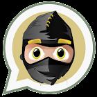 Ninja in Whatsapp - hide mode icon
