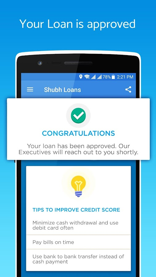 Shubhloans - Easy Loans on your phone- screenshot