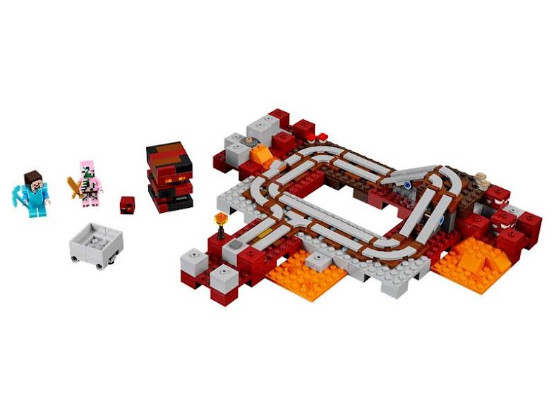 Contenido de Lego® 21130 Tren del Infierno