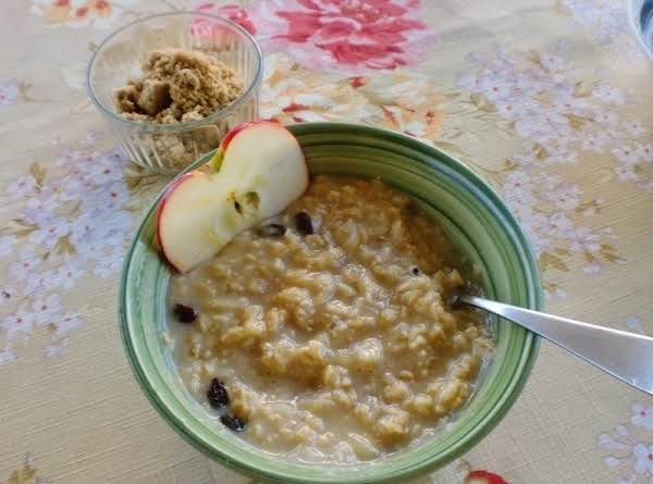 French Oatmeal Recipe