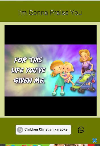 Children Christian karaoke