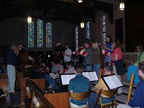 Photo: March 2001: Jeptha rehearsal
