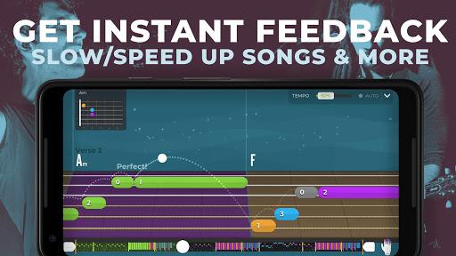 Yousician -  Learn Guitar, Piano, Bass & Ukulele screenshot