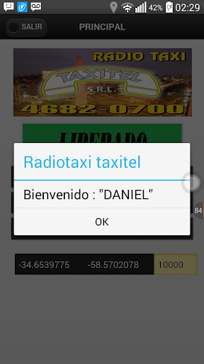 Taxistas Radio Taxi Taxitel  screenshots 2
