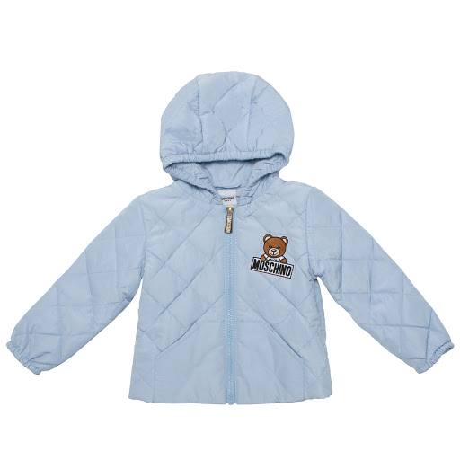 Primary image of Moschino Hooded & Quilted Jacket