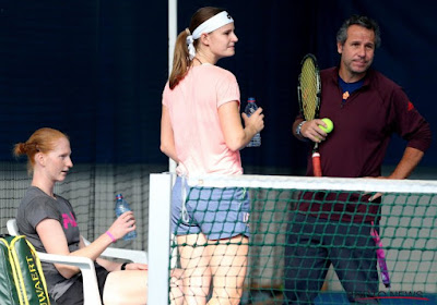 Double première pour Greet Minnen au tournoi de Hobart !