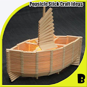 DIY Popsicle Stick Craft