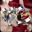 Valentine Day Dual Photo Frame icon
