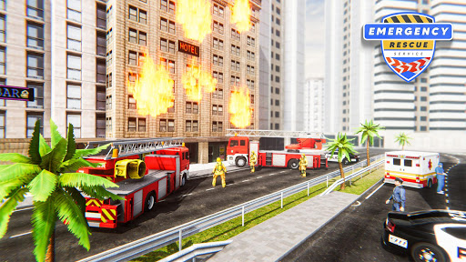 Emergency Rescue Service- Police, Firefighter, Ems screenshots 4