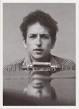Photo: Oversized Icon Collectibles postcard Bob Dylan at the piano, 1963 www.icon-collectibles.com