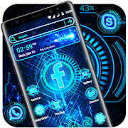 Technology Launcher Theme