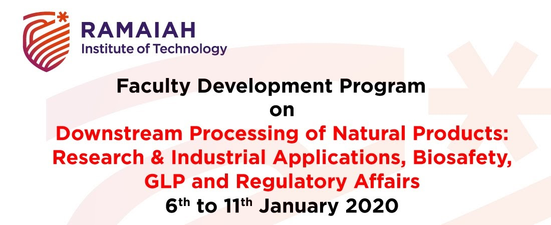 FDP on Downstream Processing of Natural Products