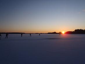 Photo: 008 In een rij op Färnebofjärden