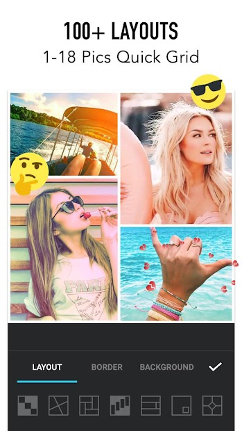 Photo Collage Maker - Photo Editor & Photo Mirror Android App Screenshot