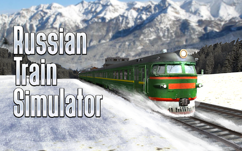 Russian Train Driver Simulator - náhled