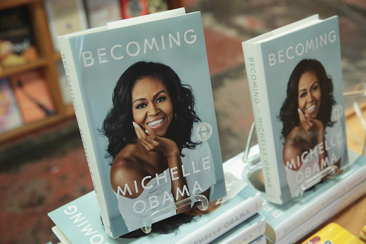 Michelle Obama's memoir, 'Becoming'.