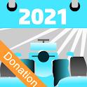 E Racing Calendar 2021 - Donation icon
