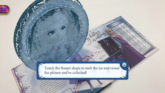 Frozen Book with Digital Magic 5