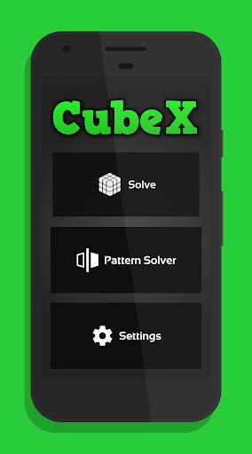 CubeX - Cube Solver  captures d'écran 1