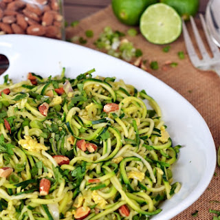Zucchini Pad Thai {Whole30}