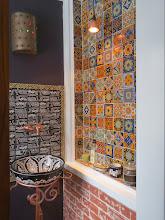 Photo: Talavera tile from Mexico