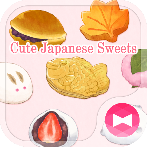 Elegant Wallpaper Cute Japanese Sweets Theme Icon