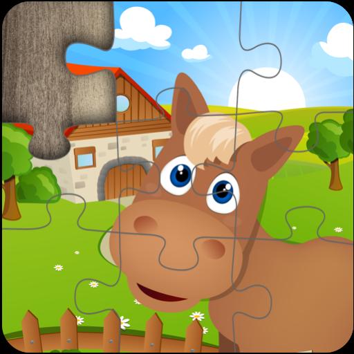 Kids Farm Jigsaw Puzzles