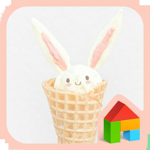 Bunnycone Dodol launcher theme 個人化 LOGO-玩APPs