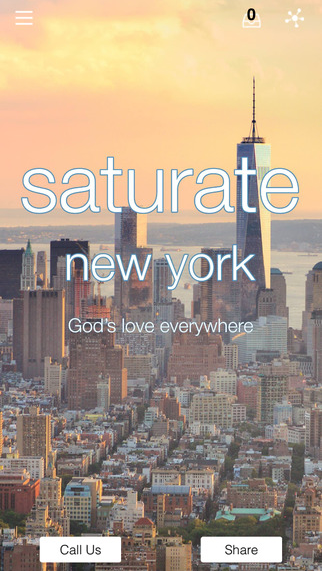 saturate nyc- screenshot