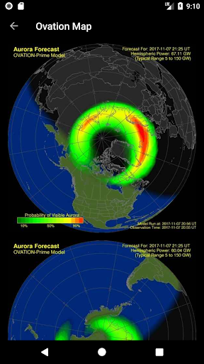 My Aurora Forecast - Aurora Alerts Northern Lights screenshot