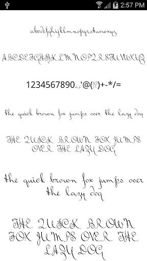 Fonts for FlipFont Love Fonts 4.0.4 screenshots 2