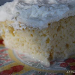 Tres Leches Cake.