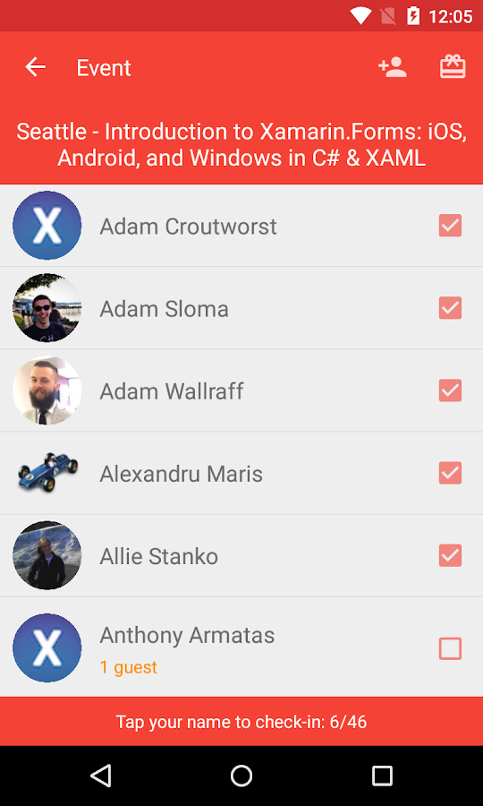 Meetup Manager for Organizers- screenshot
