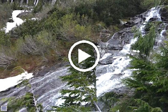 Video: North Cascades Waterfall With Feet