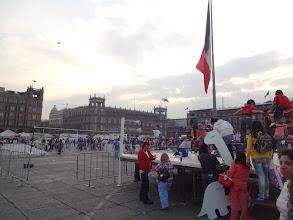 Photo: Zócalo - centrální náměstí