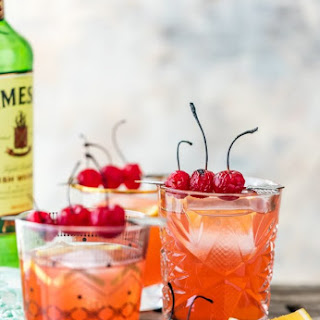 Best Ever Broiled Cherry Whiskey Sour.