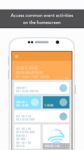 SII Events App - náhled