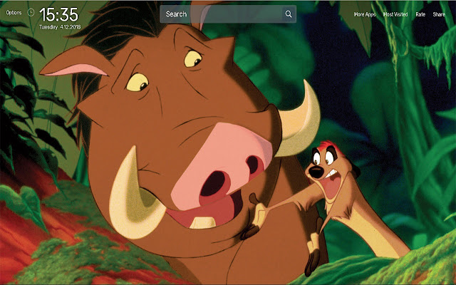 The Lion King Wallpapers NewTab Theme