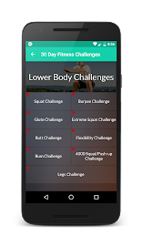 30 Day Fitness Challenges Screenshot 2