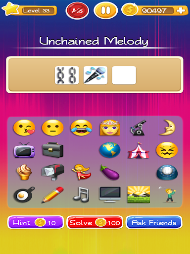 Words to Emojis u2013 Best Emoji Guessing Quiz Game  gameplay | by HackJr.Pw 15