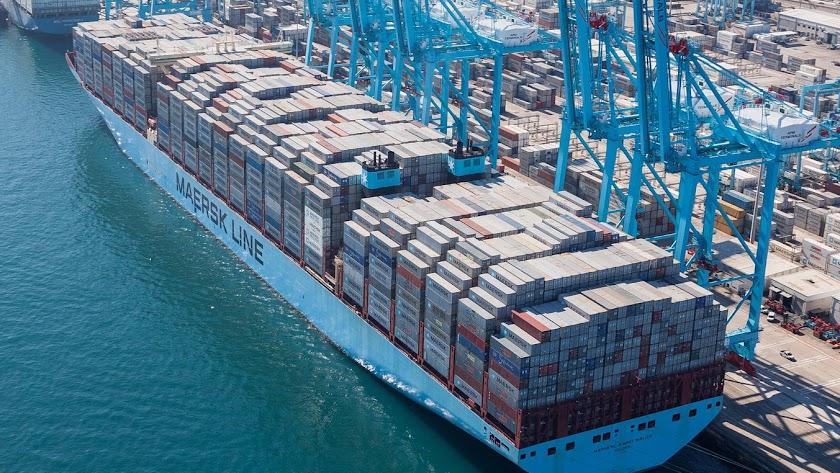 Imagen del puerto de Algeciras, en una imagen de archivo