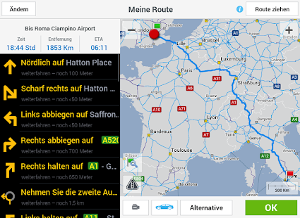 CoPilot Premium Europe - GPS- screenshot thumbnail