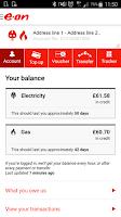 Screenshot of E.ON Energy